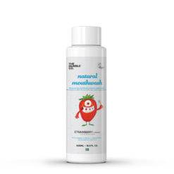 The Humble Co Natural Strawberry Mouthwash for kids